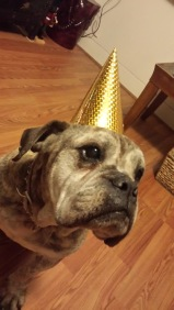 Old Lady on her b-day