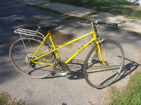 The $0.00 Swiss-made '73 Raleigh Record Mr. SS reclaimed from the trash.