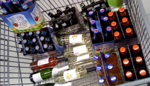 Cart of Booze